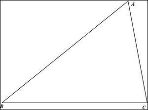 On passe à présent à la géométrie, lequel de ces théorèmes permet de montrer qu'un triangle n'est pas rectangle ?