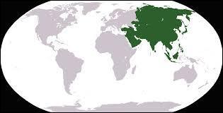 Lequel de ces pays ne se situe pas en Asie ?