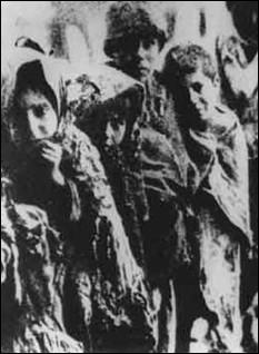 Pendant la Première Guerre mondiale, quel peuple a ainsi été persécuté ?