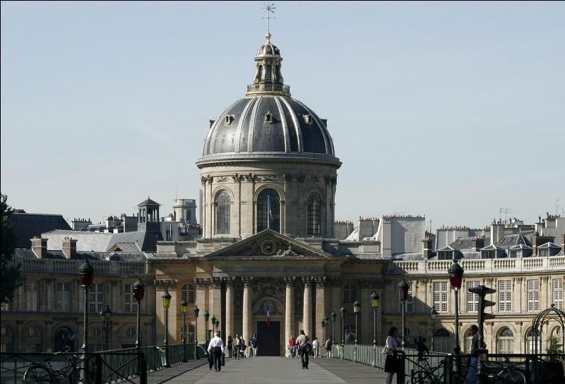 """En 1980, Marguerite Yourcenar rejoint les """"immortels"""" dans cette institution, créée par Richelieu, appelée..."""
