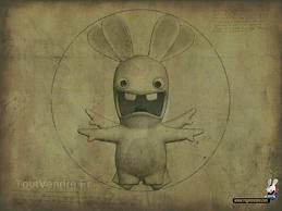 Les tableaux parodiés par les lapins crétins
