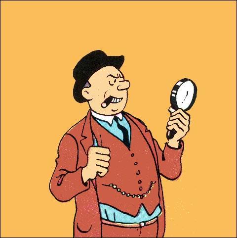 Quel nom porte le détective chargé de retrouver Milou ?