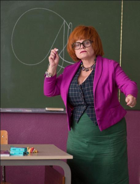 Votre prof d'anglais vous balance des craies à la tête ! Elle vient du film :