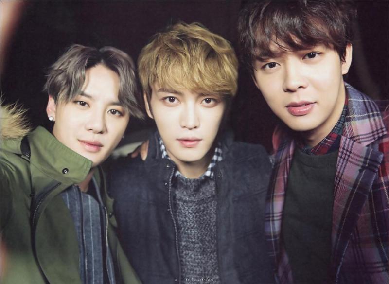 Qui composent le célèbre groupe JYJ ?