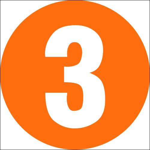 Comment dit-on : trois ?