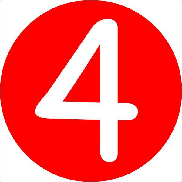 Comment dit-on : quatre ?