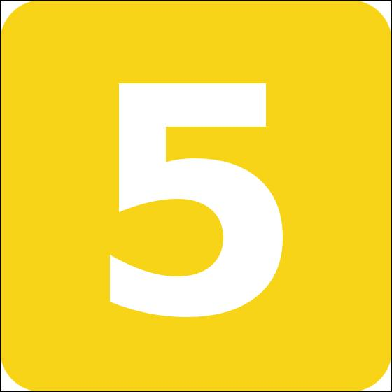 Comment dit-on : cinq ?