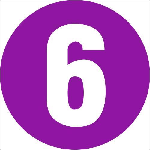 Comment dit-on : six ?