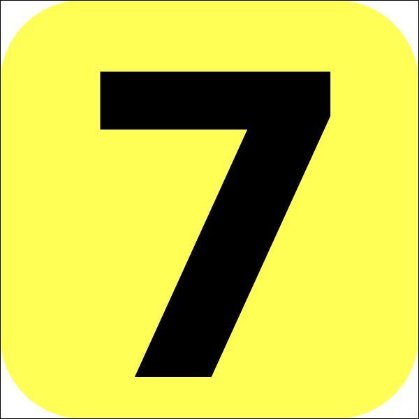 Comment dit-on : sept ?