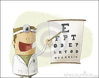 Autre nom de l'ophtalmologiste :