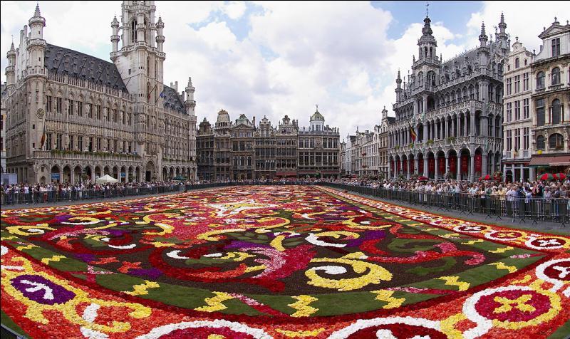 """Admirez la Grand Place de la capitale de cet autre pays fondateur, la Belgique. Vous êtes à... ! Siège de la plupart des institutions de l'Union européenne, cette ville est considérée comme la """"capitale politique"""" des 28. Cependant, l'Union n'a pas de capitale officielle."""