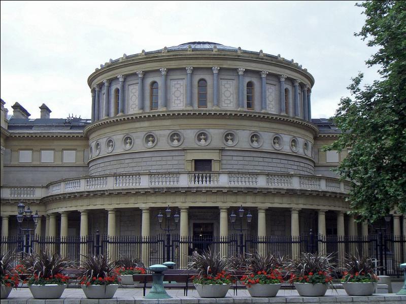Autre halte au musée national d'Irlande, situé à...