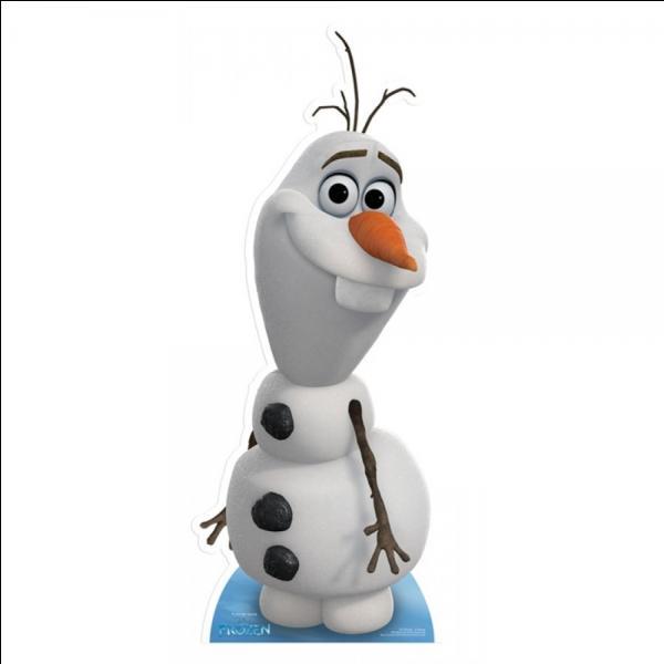Olaf rêve d'aller vivre en ...