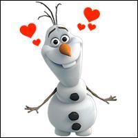 A la fin, que fait Olaf le bonhomme des neiges ?