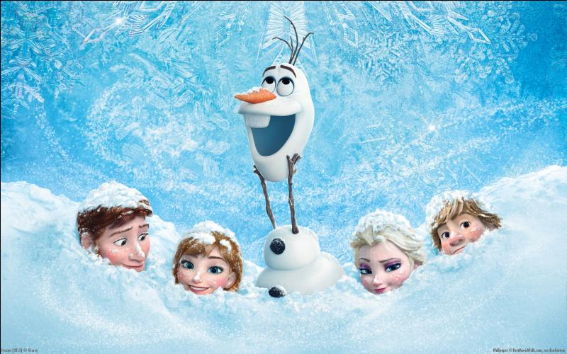 """Quel personnage n'apparaît pas dans """"la Reine des neige"""" ? (plusieurs réponses possibles)"""