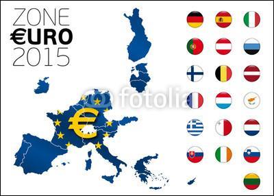 Parmi ces pays, combien font partie de la zone euro ?