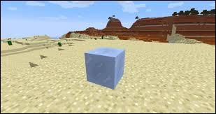 Quand la glace compacte est exposée à la chaleur, elle fond.
