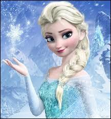 Quelle princesse construit un château totalement en glace ?