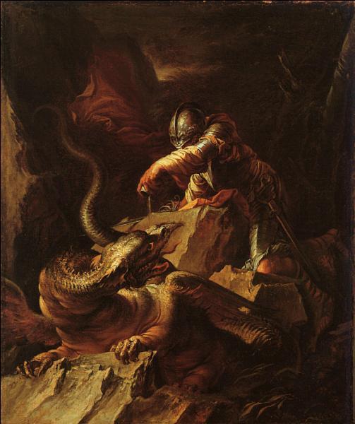 Qui est ce prince d'Iolcos et héros grec tuant le dragon ?