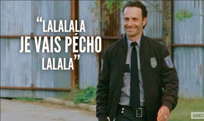 Pourquoi Rick est-il si joyeux ?