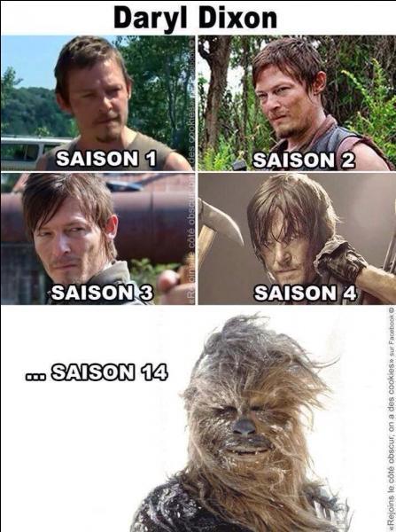Selon la prévision de nos experts, à quoi ressemblerait Daryl à la saison 14 ?