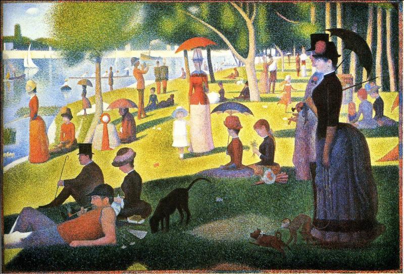 """Qui a peint """"Un dimanche après-midi sur l'île de la Grande Jatte"""" ?"""