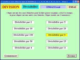 Lequel de ces nombres est divisible par 5 et n'est pas divisible par 4 ?