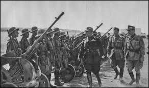 En quelle année l'Italie rentre dans la Seconde Guerre mondiale ?