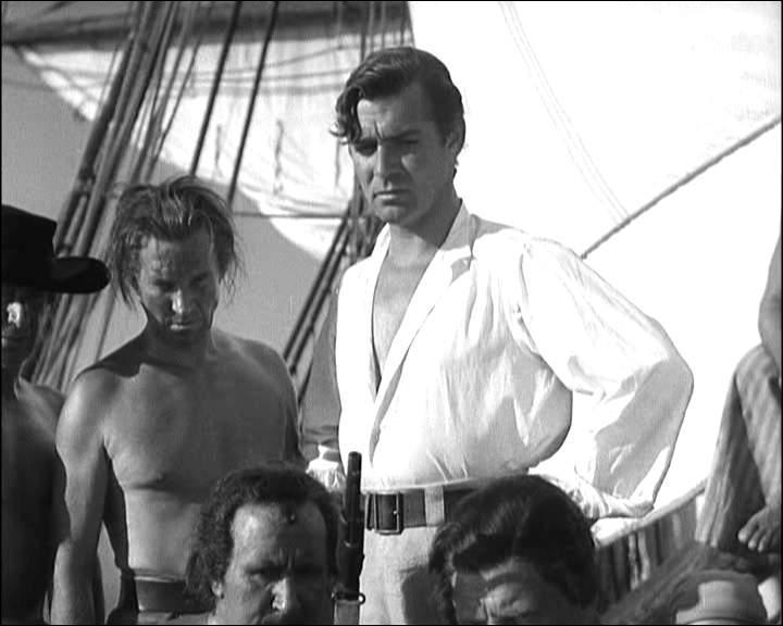 Dans quel film Clark Gable est-il à la tête d'une mutinerie ?