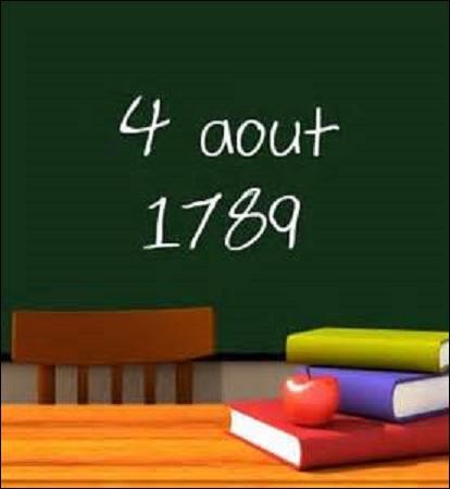 Août : Dans la nuit du 4 août, un événement fondamental de la Révolution française a lieu. En effet, un décret est voté à l'Assemblée constituante. Ce dernier entrera en vigueur le 14 septembre de la même année. Mais quel est-il ?