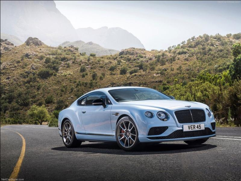 Quelle est cette Bentley ?