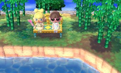 Les poissons dans 'Animal Crossing'