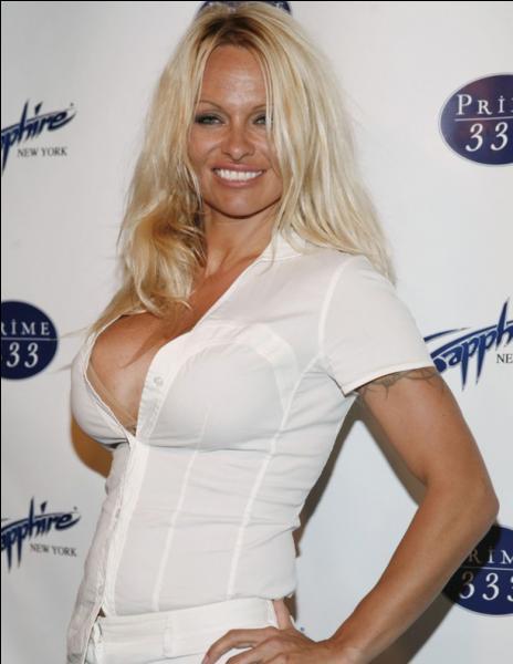 """Pamela Anderson, la star d'""""Alerte à Malibu"""", est-elle une vraie ou une fausse blonde ?"""