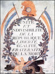 Quelle est la date de proclamation de la Ier République ?