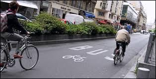 Strasbourg est la ville française qui compte le plus de pistes cyclables.