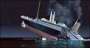 Le naufrage du Titanic est le plus meurtrier de l'histoire de la navigation.