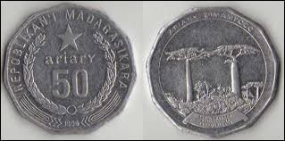 Pour terminer ce quiz, savez-vous à combien d'ariary (devise malgache) environ correspond 1 euro ?