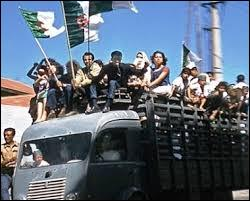 Et en quelle année l'Algérie déclare-t-elle son indépendance ?