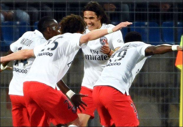 Le PSG est sacré champion de France à Montpellier grâce à sa victoire (1-2). Qui marque le premier but de la rencontre ?