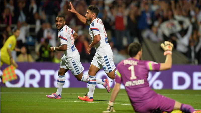5e journée, l'OL reçoit l'AS Monaco, quel est le résultat du match ?