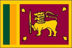 Quel animal est représenté sur le drapeau du Sri Lanka ?