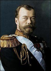 Comment s'appelait le dernier tsar de Russie ?
