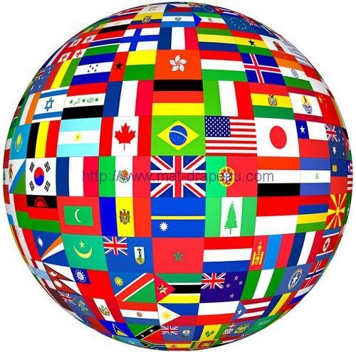 Drapeaux des pays du monde