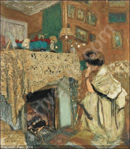 """Qui a peint """"Madame Hessel au coin du feu"""" ?"""