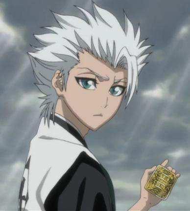 Mangas - Personnages aux cheveux blancs