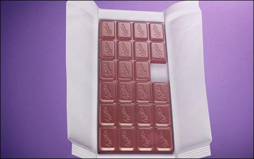 """Quelle marque de chocolat est vantée dans le slogan """"Osez la tendresse et partagez votre dernier carré avec ..."""""""
