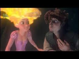 Après avoir sauté de la falaise, où Flynn et la princesse se retrouvent-ils coincés ?