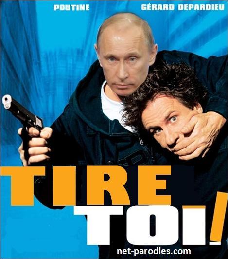 Sur l'image on voit bien Poutine avec Depardieu mais quel est le vrai nom du film ?