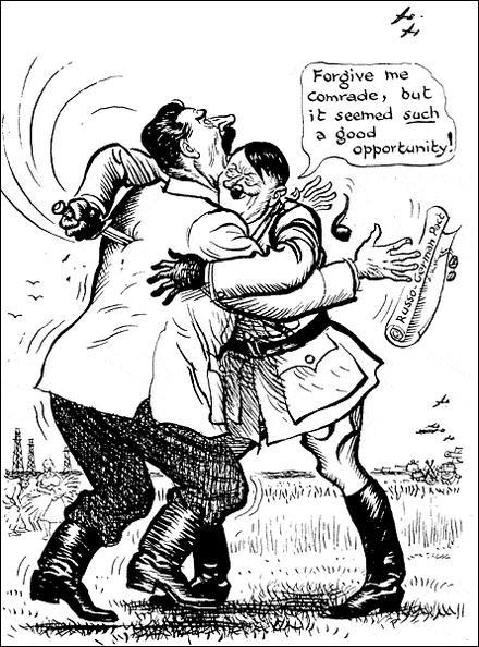 Et en quelle année Adolf Hitler va-t-il rompre ce pacte ?