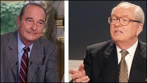 Avec quel autre homme politique Jacques Chirac arrive-t-il au second tour de l'élection présidentielle de 2002 ?